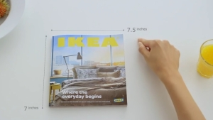 ikea parodie apple pour pr senter son nouveau catalogue. Black Bedroom Furniture Sets. Home Design Ideas
