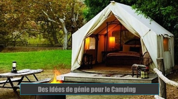 17 id es de g nie pour les fans de camping. Black Bedroom Furniture Sets. Home Design Ideas