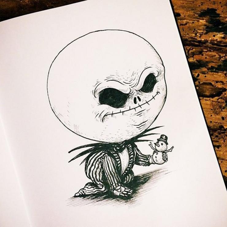 27 surprenants dessins de b b s monstres - Dessins de monstres ...