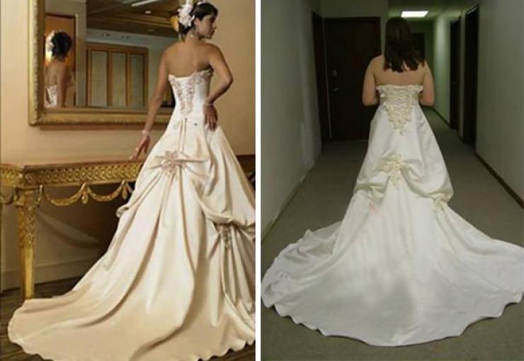 2145b18d11c La robe que vous avez acheté ne ressemble pas du tout à celle que l on peut  voir sur les jolies mannequins dans les publicités.