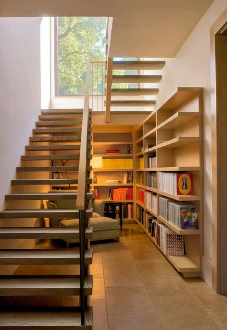 aussi esthétiques que malins, ces 15 aménagements sous escaliers