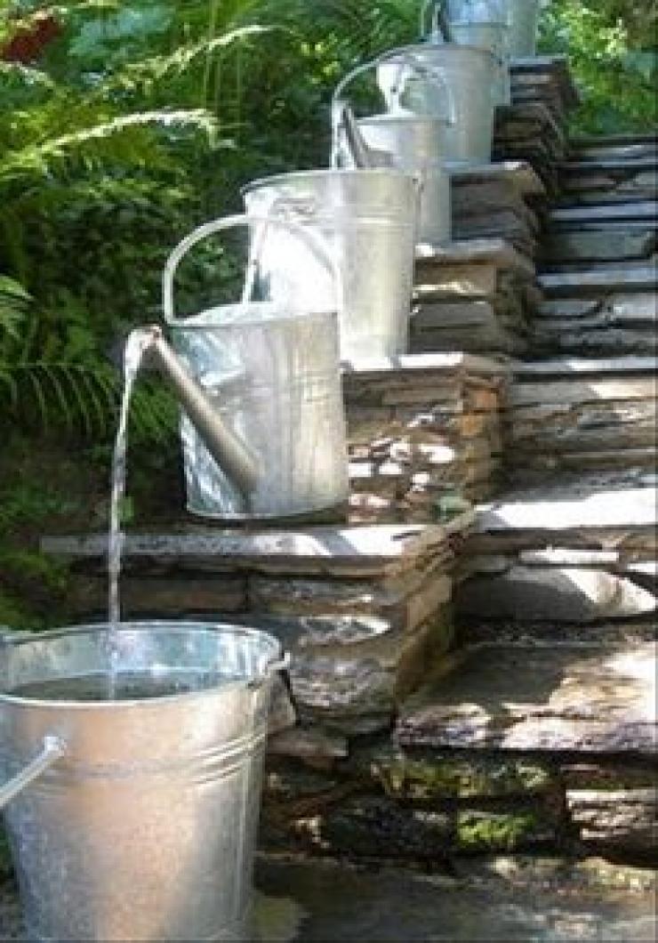 Vous aimez les cascades et les fontaines de jardin ? Ces 44 idées ...