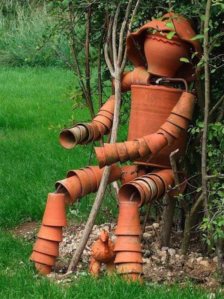 Un Tuto Et 24 Photos Pour Realiser Vos Sculptures En Pot De Terre