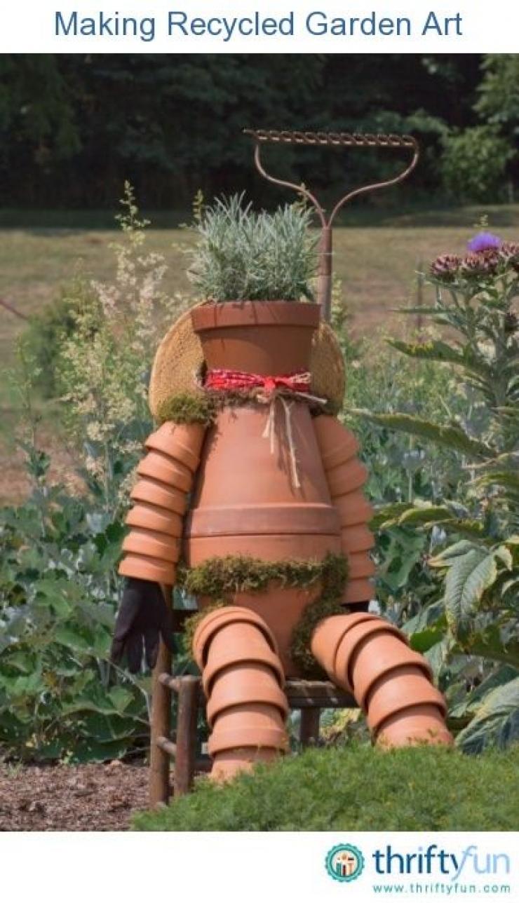 un tuto et 24 photos pour réaliser vos sculptures en pot de terre
