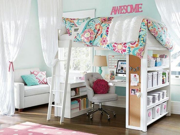 Chambre Fille Petit Espace