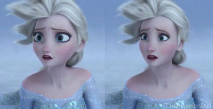 Et si les personnages Disney avaient des proportions plus
