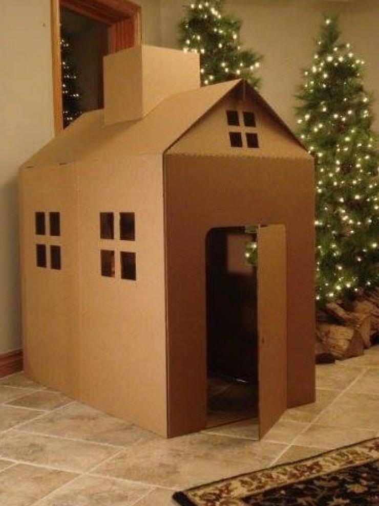 maison en carton pour enfant ventana blog. Black Bedroom Furniture Sets. Home Design Ideas