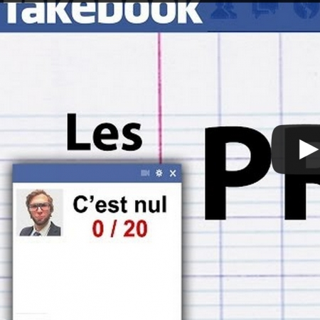 Photo : Les profs sur Facebook!