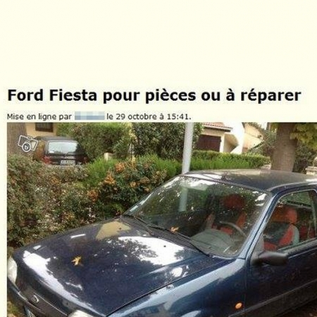 Photo : Ford Fiesta (Ferrari) en vente sur le bon coin!