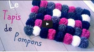comment faire un pompon en laine avec une fourchette