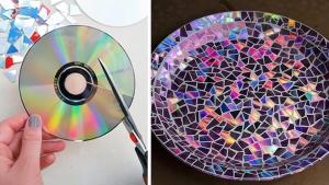 Frais 21 idées brillantes pour recycler vos vieux CD ! KE24