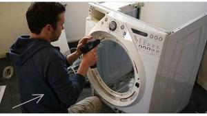 regardez ce que cet homme a fait de sa machine laver. Black Bedroom Furniture Sets. Home Design Ideas