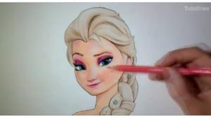 Voici Comment Dessiner Elsa La Reine Des Neiges Juste Pour Les