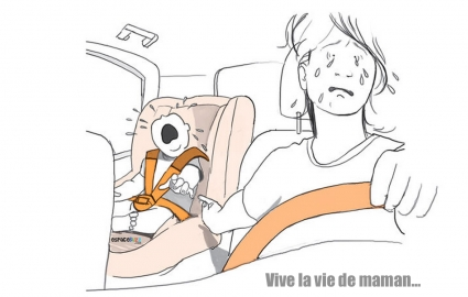 Illustration du Buzz : Cette illustratrice dessine la vie de maman au quotidien (8 photos)