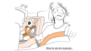 Image illustrant l'article Cette illustratrice dessine la vie de maman au quotidien (8 photos)
