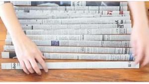 Image illustrant l'article Après l'avoir lu, elle recycle son journal et ce qu'elle en fait s'avère très UTILE pour la maison !
