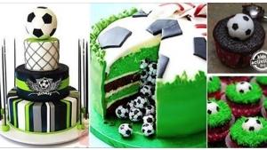 Image illustrant l'article Top 28 des plus beaux gâteaux pour les fans de Football... Joli travail !