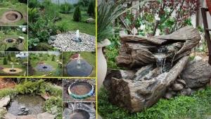 vous aimez les cascades et les fontaines de jardin ces 44 id es sont pour vous. Black Bedroom Furniture Sets. Home Design Ideas