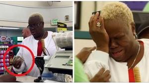Image illustrant l'article Une dame compte son argent afin de payer ses courses mais ce que va faire un inconnu la laisse en larmes...