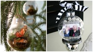 33 incroyables idées pour décorer des boules de Noël en verre… Des
