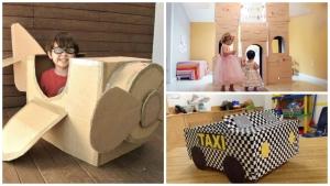 voici 15 id es de jouets pour enfants fabriquer avec. Black Bedroom Furniture Sets. Home Design Ideas