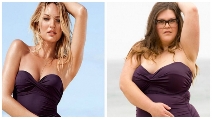 Image illustrant l'article Voici ce que donnent les maillots de Victoria's Secret sur des femmes de différentes corpulences !