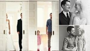 Image illustrant l'article Après le décès de sa femme, cet homme décide de refaire ses photos de mariage avec sa fille. Très bel hommage !