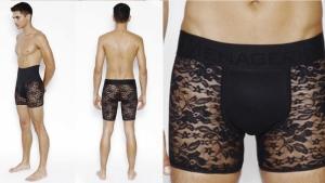 Image illustrant l'article De la lingerie en dentelle conçue juste pour les hommes, ça vous intéresse ?
