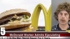 Image illustrant l'article Cet employé avoue avoir éjaculé dans de nombreux Big Mac pendant plus de 2 ans chez McDonald! (Hoax)
