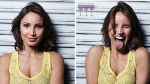 Image illustrant l'article 16 photos de personnes avant et après avoir bu de l'alcool