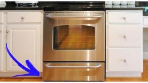Image illustrant l'article C'est donc à ça que sert le tiroir sous le four ! Et moi qui y rangeais mes casseroles...