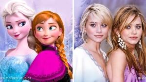 Image illustrant l'article 20 Célébrités et Caractères Disney Qui Se Ressemblent Comme Deux Gouttes D'eau!