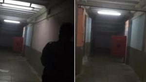 Image illustrant l'article Une scène à glacer le sang, filmée par 2 policiers qui ont entendu du bruit venant de cette morgue...