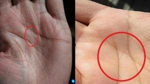 Image illustrant l'article Voici ce que signifie cette marque dans la main, visible uniquement chez 3 personnes sur 100!