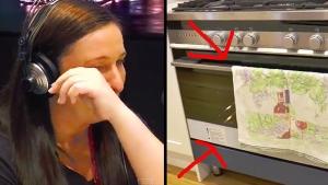Image illustrant l'article Son mari la quitte à 36 semaines de grossesse... Mais elle est bouche bée en voyant la caméra installée chez elle par la radio !