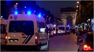Image illustrant l'article Un policier décède alors qu'un autre est grièvement blessé lors d'une fusillade aux Champs-Elysées!