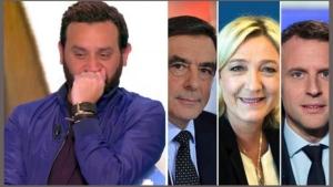 """Image illustrant l'article Des internautes s'agacent parce que Cyril Hanouna dévoile """"une partie"""" de son vote au 1er tour."""