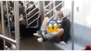 Image illustrant l'article Filmée en flag, cette femme nous prouve qu'on peut voir l'impensable dans le métro...